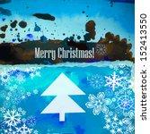 christmas card. merry christmas | Shutterstock .eps vector #152413550
