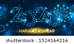 Happy New Year 2020 Banner...