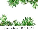 pine branches for decorative... | Shutterstock . vector #152417798