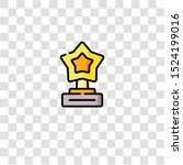 trophy icon sign and symbol....