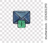 email icon sign and symbol....