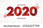 happy new 2020 year  elegant... | Shutterstock .eps vector #1524227759