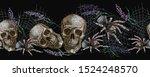 halloween seamless pattern.... | Shutterstock .eps vector #1524248570