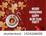christmas background ... | Shutterstock .eps vector #1524268400