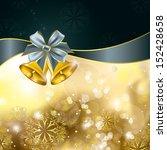 christmas background. vector... | Shutterstock .eps vector #152428658