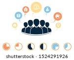 infographics business people ...   Shutterstock .eps vector #1524291926