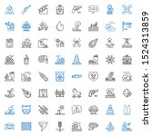 danger icons set. collection of ... | Shutterstock .eps vector #1524313859