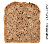 Slice Of A Whole Wheat Bread...