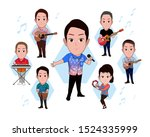 illustration of the character...   Shutterstock .eps vector #1524335999