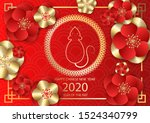 chinese new year festive vector ... | Shutterstock .eps vector #1524340799