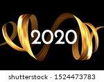 modern 2020 new year  great... | Shutterstock .eps vector #1524473783
