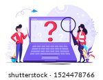 question mark. business people...   Shutterstock .eps vector #1524478766