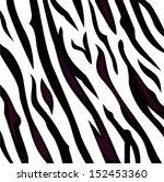 zebra black and white pattern...   Shutterstock .eps vector #152453360