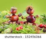 Funny Chestnut Figures