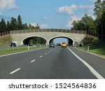 Road A2 Towards Warsaw   Poland ...