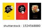 black friday discount vector... | Shutterstock .eps vector #1524568880