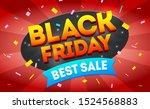best sale vector banner... | Shutterstock .eps vector #1524568883