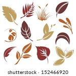 autumn leaves   Shutterstock .eps vector #152466920