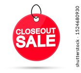 closeout sale  offer tag ...