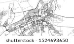 urban vector city map of al ain ...   Shutterstock .eps vector #1524693650