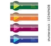 modern glossy color design... | Shutterstock .eps vector #152469608