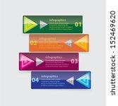 modern glossy color design... | Shutterstock .eps vector #152469620