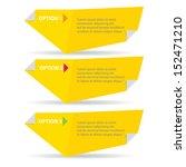 vector orange paper progress... | Shutterstock .eps vector #152471210