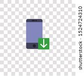 smartphone icon sign and symbol....