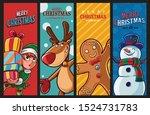 set of graphics for christmas... | Shutterstock .eps vector #1524731783