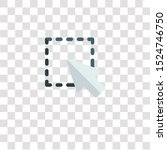 selection icon sign and symbol. ...