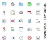 simple creative flat ui icon...