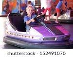 Happy Teenager Boy Rides...