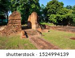 Wiang Kum Kam an historic settlement and archaeological site along the Ping River built by King Mangrai the Great situated at Chiang Mai