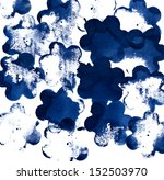 ink blot in abstract art theme... | Shutterstock . vector #152503970