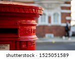 Traditional Red Mail Letter Box ...