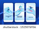 snowboard mobile app template...