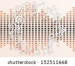 abstract music background....