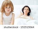 mother scolds her child   Shutterstock . vector #152515064