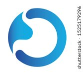 modern colorful stomach logo... | Shutterstock .eps vector #1525179296
