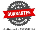 guarantee sign. guarantee red... | Shutterstock .eps vector #1525182146