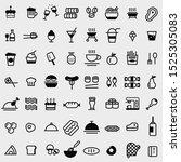 food  restaurant  drinks ...   Shutterstock .eps vector #1525305083
