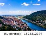 Aerial View  Heidelberg Castle...