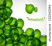 nature background with fresh... | Shutterstock .eps vector #152542094