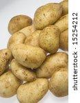 raw potatoes | Shutterstock . vector #15254212