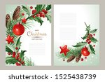 vertical banners with text and... | Shutterstock .eps vector #1525438739