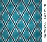 seamless knitted pattern. style ... | Shutterstock .eps vector #152549078