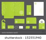stationery design vector... | Shutterstock .eps vector #152551940