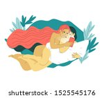 beautiful hand drawn flat style ... | Shutterstock . vector #1525545176