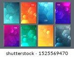 abstract technology data... | Shutterstock .eps vector #1525569470