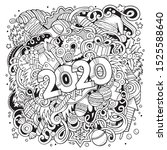2020 Hand Drawn Doodles...